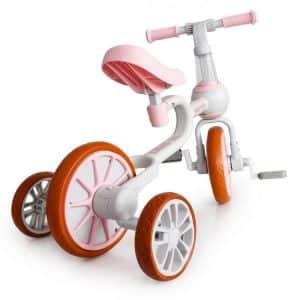 ecotoys_bicykel_odrazadlo_3in1_pre_mensie_deti_pre_skolkarov_a_predskolakov_pre_dievcata_ruzova_farba_rozvija_koordinaciu