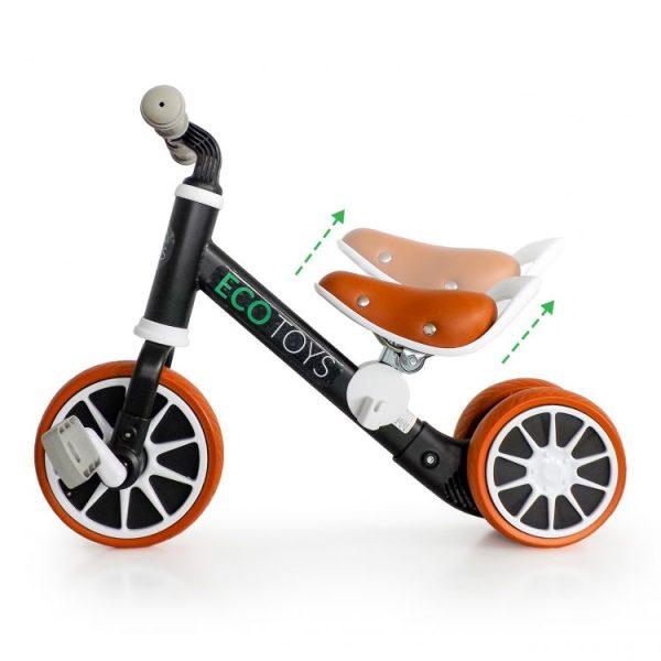 ecotoys_bicykel_pre_mensie_deti_pre_skolkarov_a_predskolakov_pre_chlapcov_čierna_farba_rozvija_koordinaciu