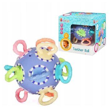 hrýzatko Lopta- vhodné pre najmenšie deti- rozvíja motoriku