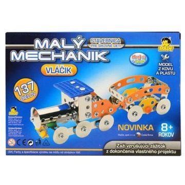 malý- mechanik-vlak-stavebnica