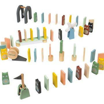 Drevená stavebnica domino