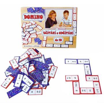 Domino sčítanie a odčítanie
