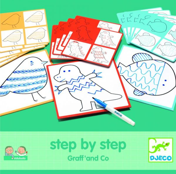 Eduludo Kreslenie krok za krokom Graff' and Co