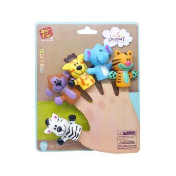 Maňušky - safari zvieratká na prsty