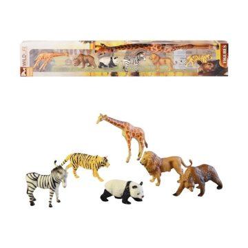 Zvieratká v boxe tropické 6ks