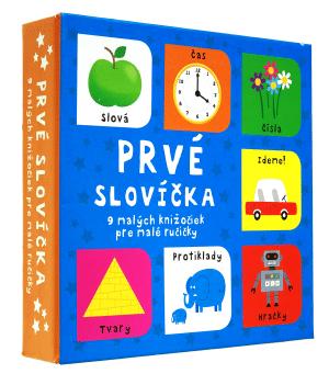 Prvé slovíčka - 9 malých knižočiek pre malé ručičky