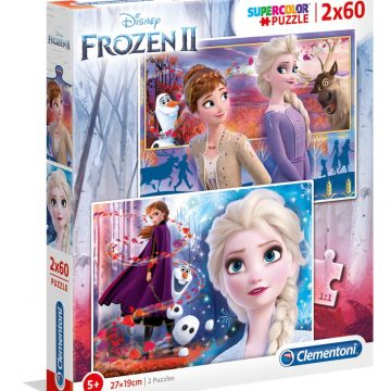 Clementoni Puzzle 2x60 Frozen2