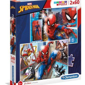 Clementoni Puzzle 2x60 Spiderman