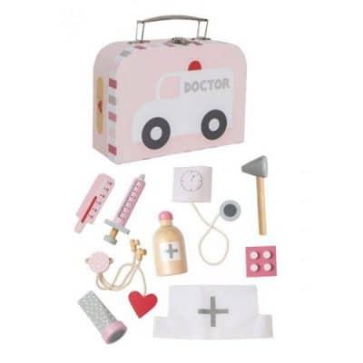 Jabadabado Lekársky kufrík ružový